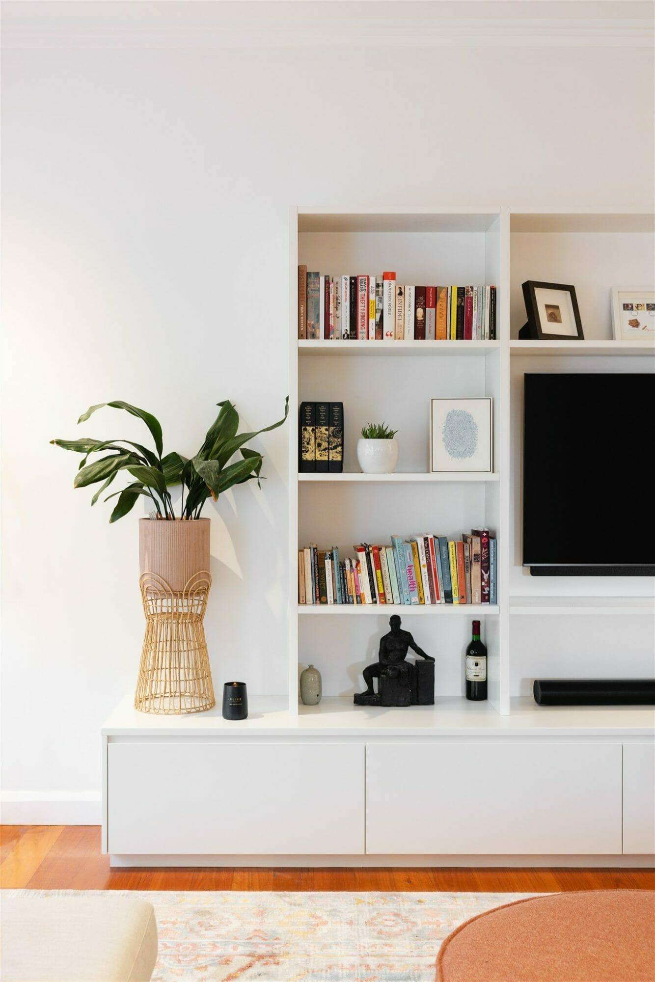 Cammeray Family Home - TV Unit - Interior Design Project - Emma Blomfield
